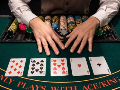 your first poker win